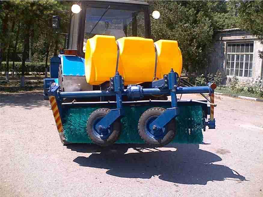 Щетка коммунальная МК 2.0 для трактора МТЗ
